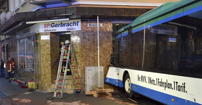 48 injured, mostly children, in German school bus accident