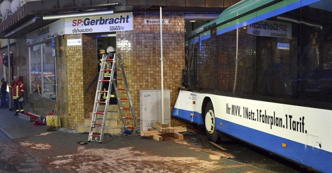 48 injured, mostly children, in German school bus accident