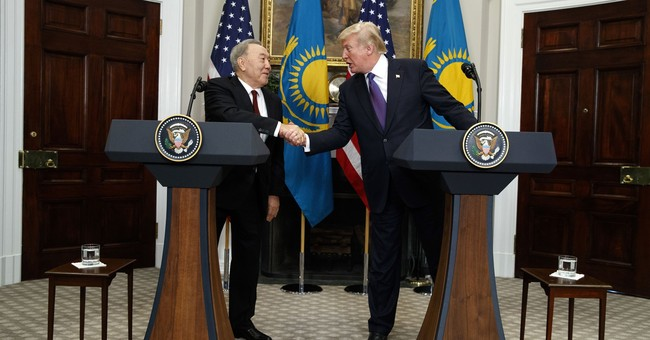 Trump, Kazakh president discuss North Korea nuclear threat