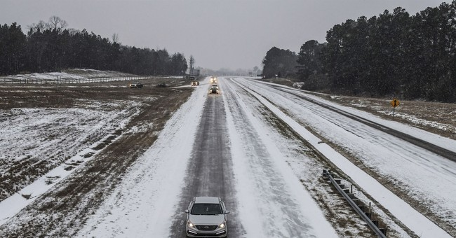 Winter storm hits South with more snow, frigid temperatures