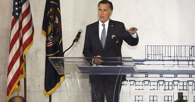 Romney declines to say whether he'd run for Utah Senate seat
