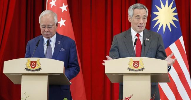 Malaysia's Najib criticizes Singapore ties under Mahathir