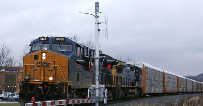 CSX 4Q profit up 25 percent and railroad gets tax-cut boost