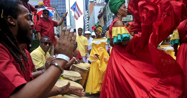 Puerto Rican Day Parade shows post-hurricane concerns