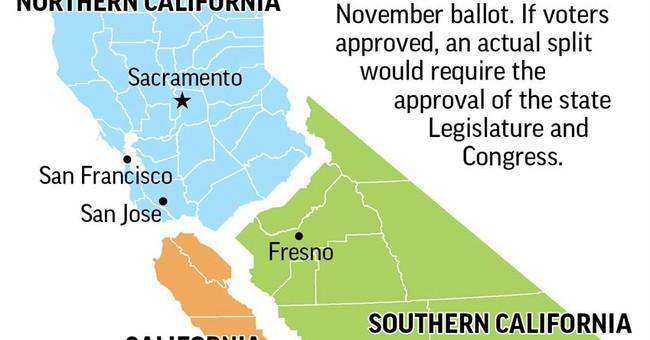 Plan To Split California Into Three States Earns Spot On November Ballot