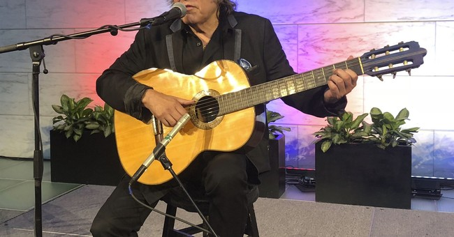 Jose Feliciano donates guitar he performed US anthem 1968