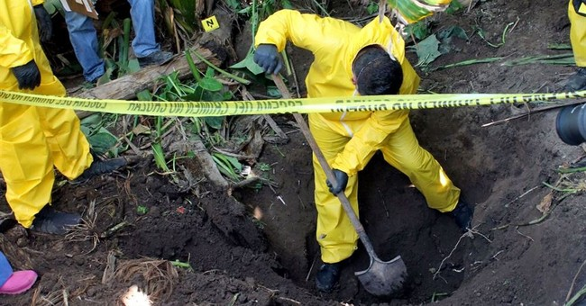 At least 33 bodies found in clandestine graves in Mexico