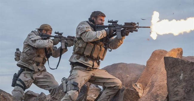 Review: Hemsworth leads a solid wartime film in '12 Strong'
