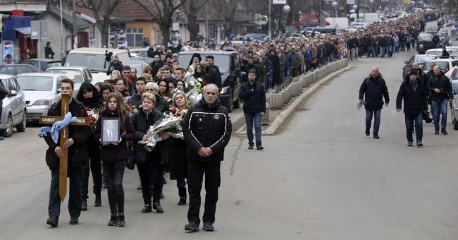 Hundreds attend funeral of slain Kosovo Serb politician