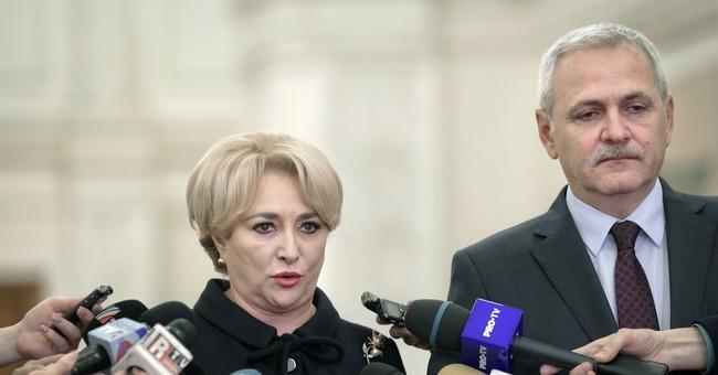 Romanian premier-designate presents 27-member Cabinet