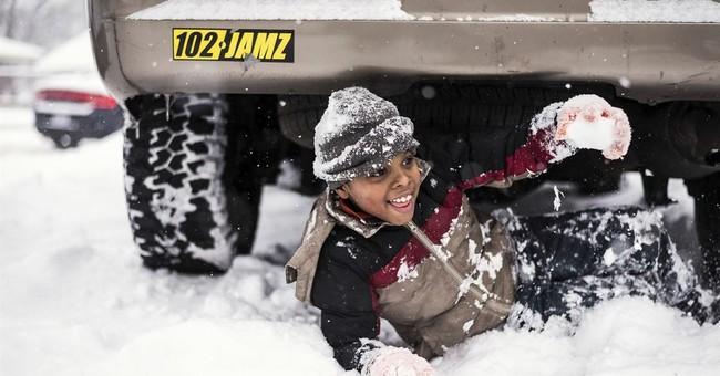 Sub-zero temperatures accompany winter storm