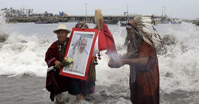 The Latest: Peru indigenous ask pope to push for land rights