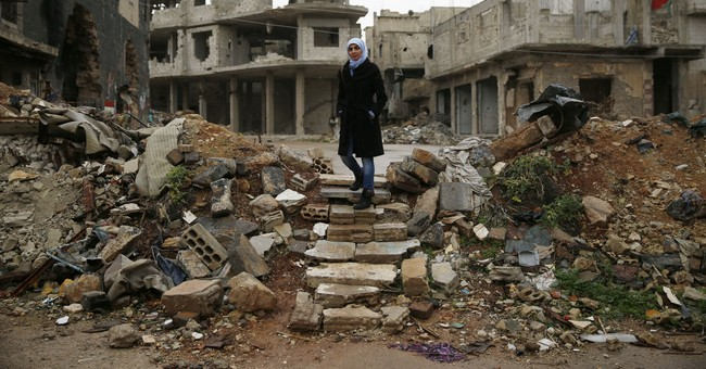 Nearly 4 years on, much of Syrian rebel 'capital' abandoned