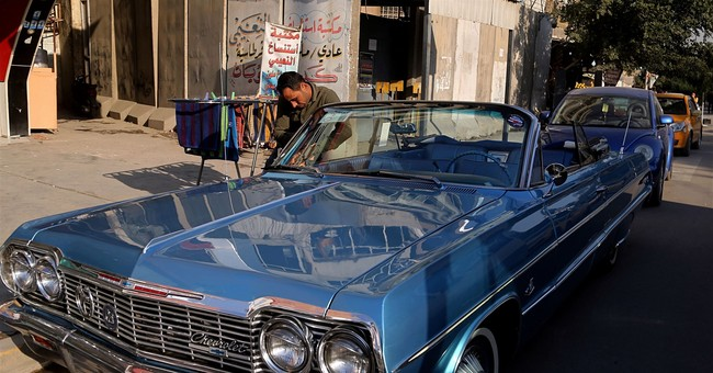 Optimism in Iraq fuels revived interest in classic cars