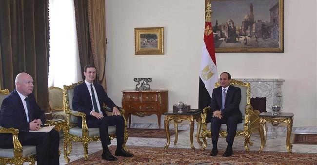 Trump's Mideast team arrives in Egypt