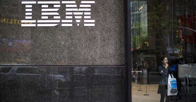 IBM reports first revenue growth since 2012