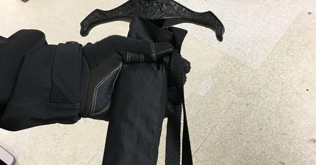 Umbrella mistaken for weapon causes hospital lockdown