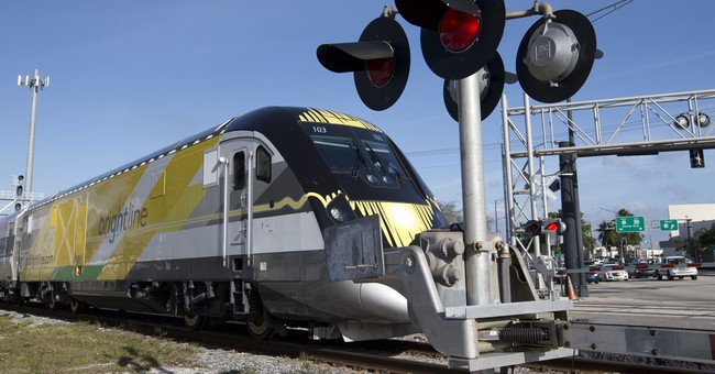Man hit by Florida's new high-speed train 4th death so far