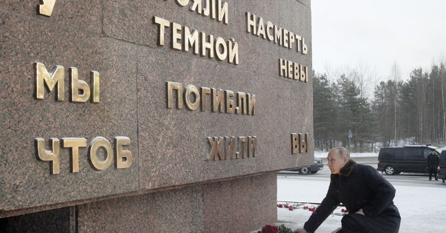Russia marks 75 years since breaking Nazi siege of Leningrad
