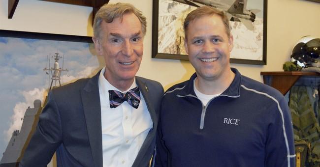 Trump's pick to head NASA to host Bill Nye 'Science Guy'