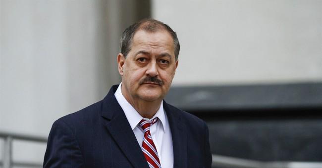 Convicted ex-coal CEO woos working class, opening Senate bid