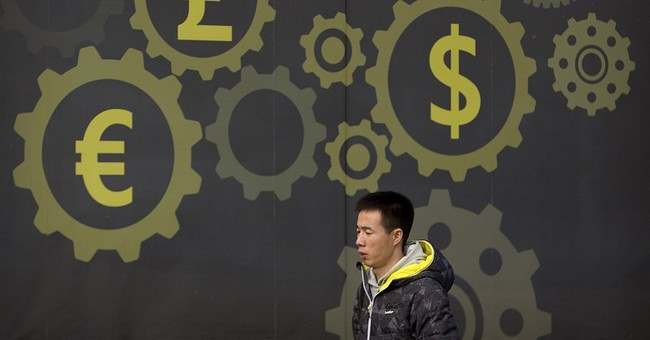 China says cross-border cash flows hit turning point in '17
