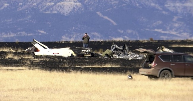 'Watching my family burn': Woman frantic after copter crash