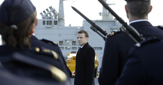 France's Macron pledges big increase in defense budget