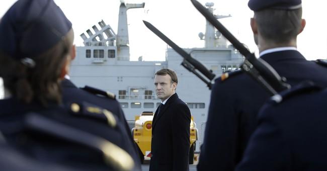 France's Macron pledges big increase in defense budget