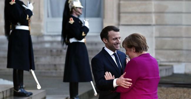 Merkel, Macron hopeful about German coalition talks