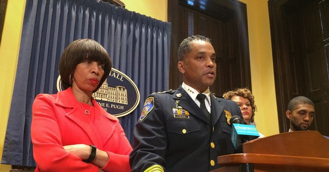 Baltimore police leader fired after record year in homicides