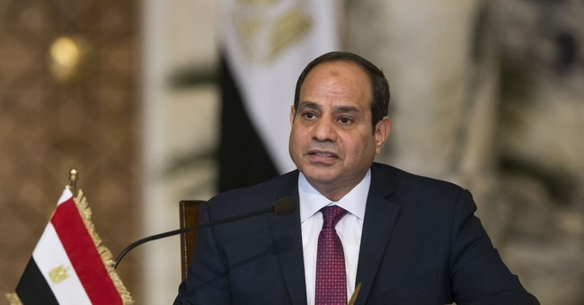 Sure to win, Egypt's president seeks re-election
