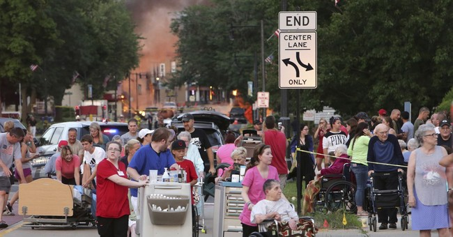 The Latest: Walker offers condolences after fatal explosion