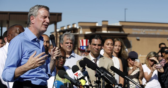 Border Protection says NYC mayor crossed border illegally