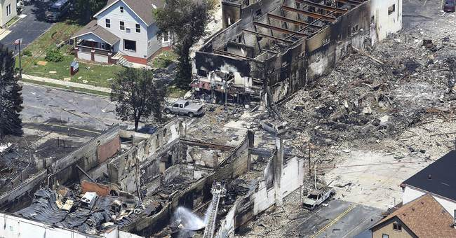 Firefighter killed in gas explosion, fire near Madison
