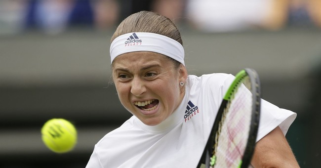 The Latest: British hopes alive in Wimbledon mixed doubles