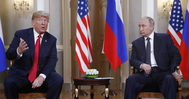 The Latest: Trump tweets US, Russia 'must get along'