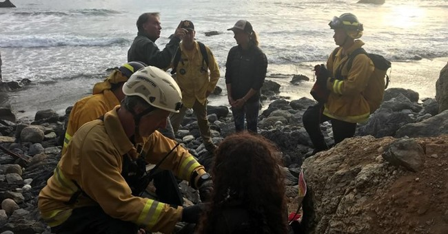 Woman Missing a Week Found Alive Down a Cliff