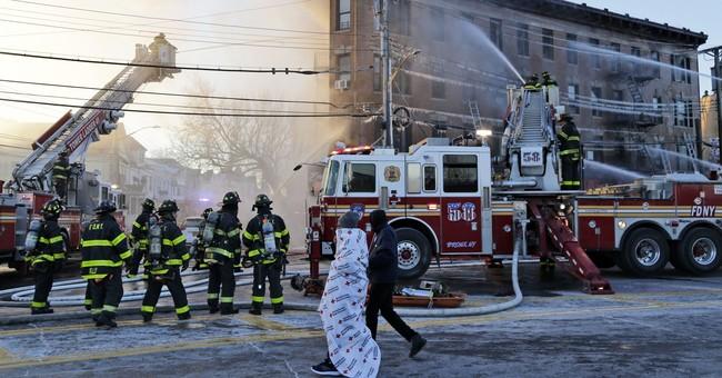 23 hurt, including firefighter, in Bronx blaze
