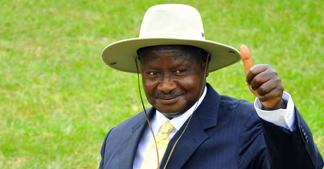 Ugandan leader signs bill removing presidential age limit