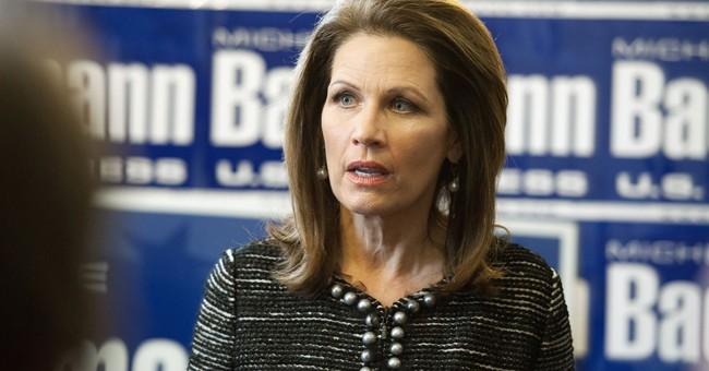 GOP's Bachmann mulling bid for Franken's Senate seat