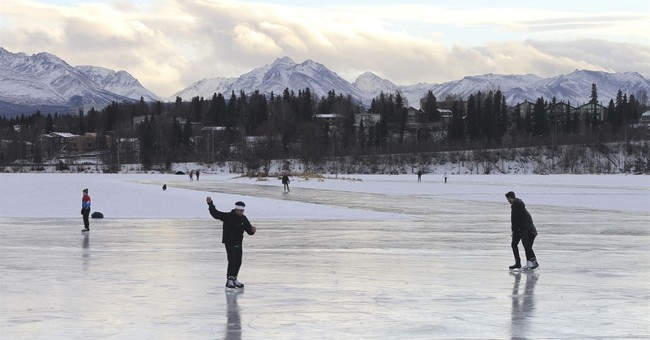 T-shirts in Alaska in winter? With record-tying temps, yes