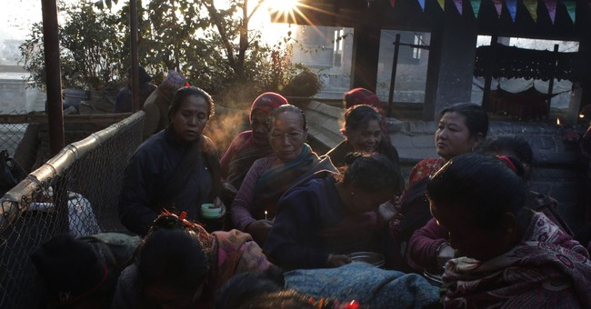 AP PHOTOS: Hindus in India and Nepal mark auspicious day