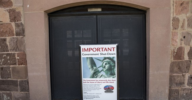 Shutdown forces closure of Statue of Liberty, Ellis Island