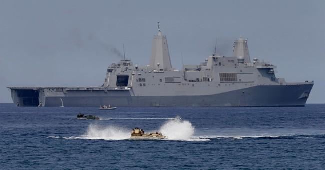 China says US warship violated sovereignty near Scarborough