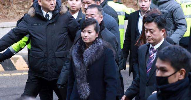 North Korean girl band leader heads delegation to South