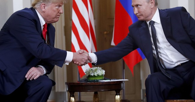 Trump accepts Vladimir Putin's denials of election meddling
