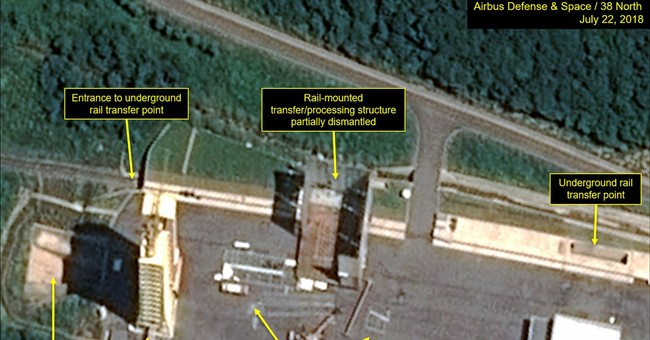 Images indicate North Korea dismantling facilities at test site
