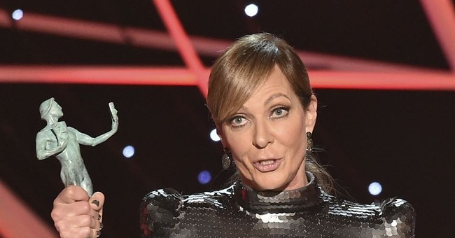 'Three Billboards' sweeps female-focused SAG Awards