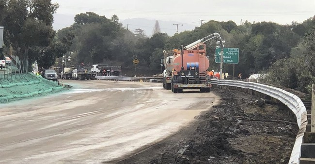 California highway swamped by deadly mudslides reopens